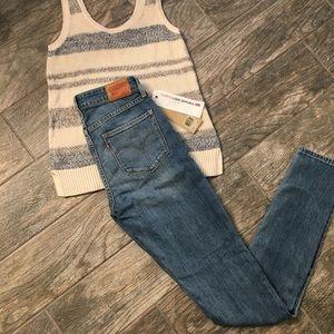 Levi's 721 Vintage Soft Jeans, 27x34 NEW